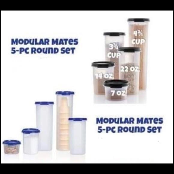 New!!!! Tupperware 5 pcs modular mates rou…